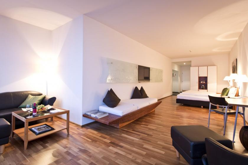 spacious rooms in business hotel